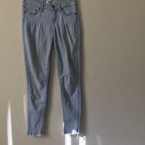 Paige- Light Blue Jeans Verdugo Ankle size 26